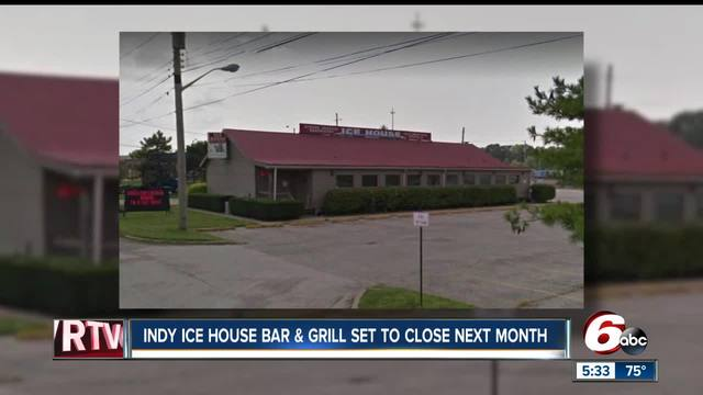 Indy Ice House to close in November after 34 years in business
