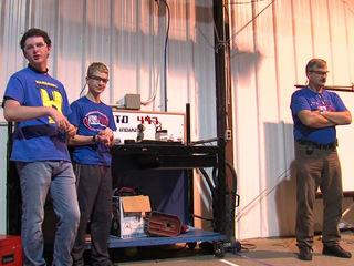 Teens' robot equipment stolen before competition
