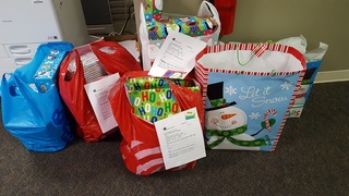 Donations for foster children in Shelby County
