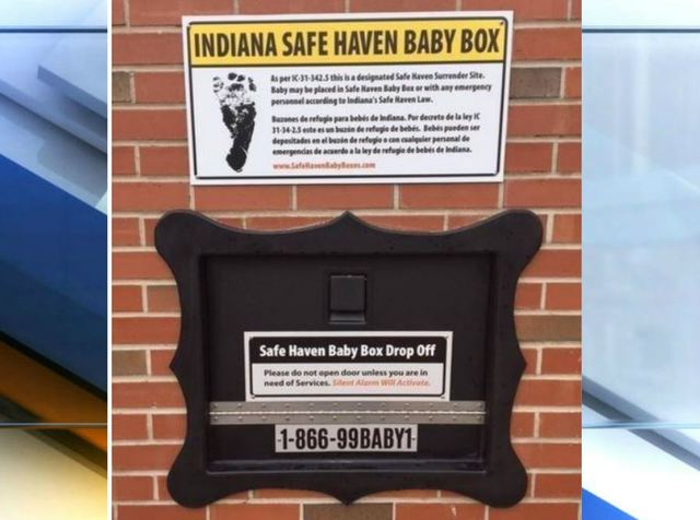 Infant left in Michigan City baby box