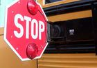 Father wants drivers to slow down, stop for bus