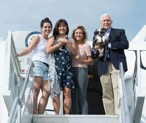 Report: Trump not happy Pence brought pets to DC
