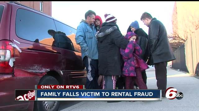 Family living in van after rental scam- -I gave him every bit of the…