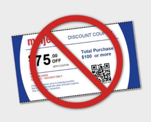 Beware of fake $75 off Meijer coupon