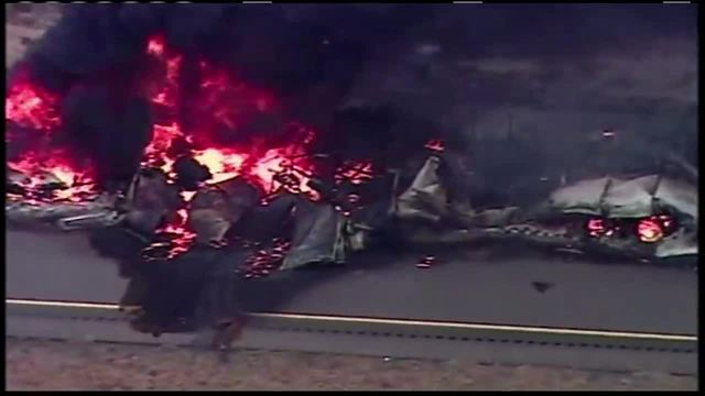 1 injured in semi fire on I-65