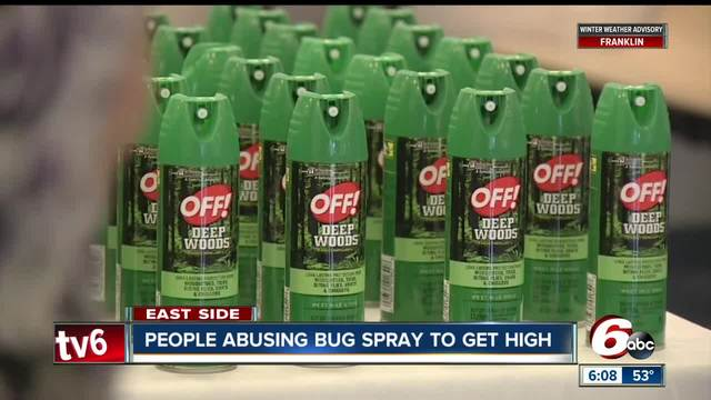 People are using bug spray to get high and it-s really dangerous