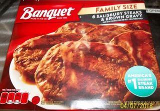 Banquet recalls frozen Salisbury dinners