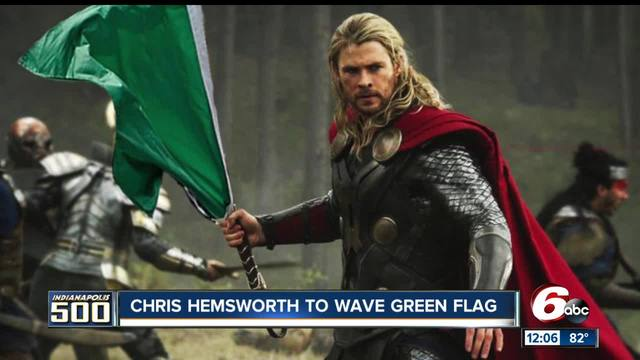 -Avengers- star Chris Hemsworth to wave green flag at Indy 500