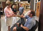 Hero Noblesville teacher released from hospital