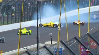 These are the crashes during the 2018 Indy 500
