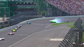 Crash ends final race for Danica Patrick