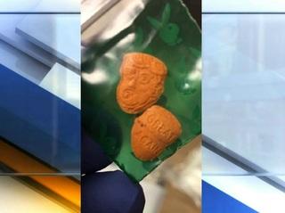 Drugs shaped like Donald Trump's head seized