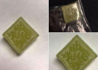 THC gummies found in Indiana
