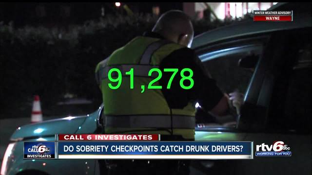 Sobriety checkpoints don-t net many drunk driving arrests but police-…