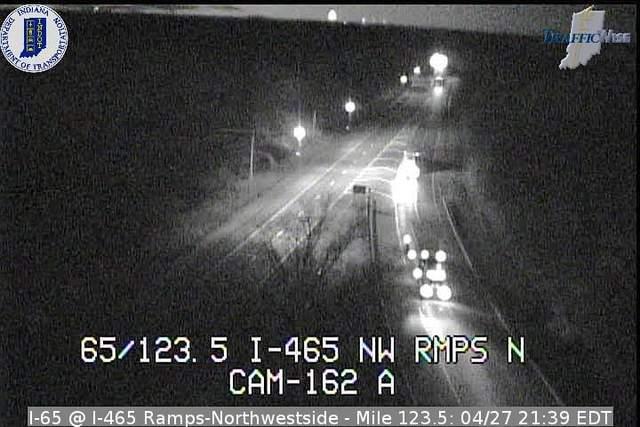 I-65, I-465 Ramp North Side