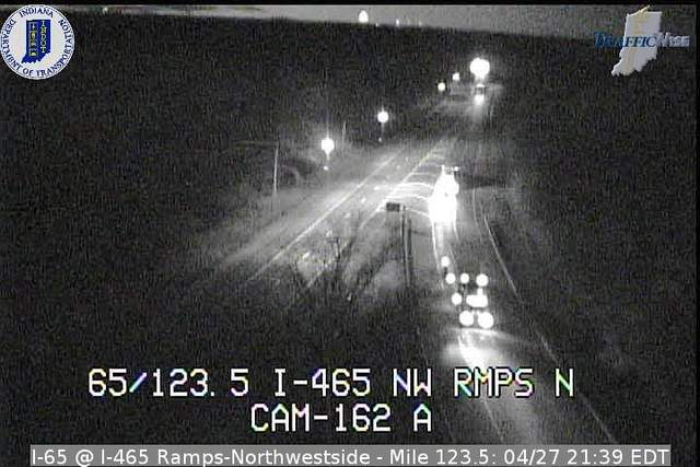 I-65, I-465 Ramp North