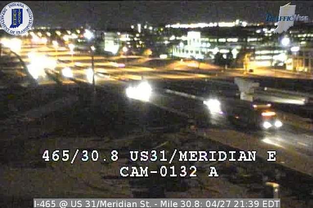 I-465, Meridian St.