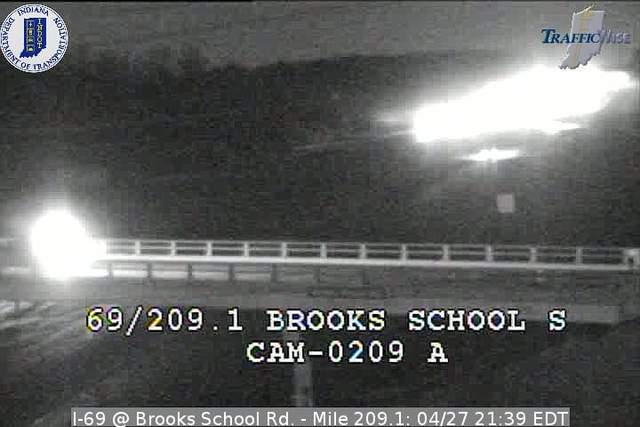 I-69, Brooks School