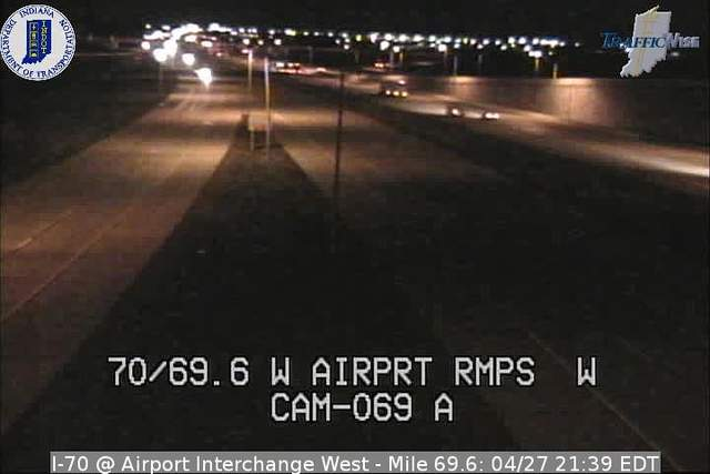 I-70, Airport Ramp