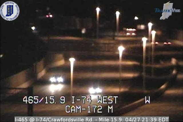 I-465, I-74 Ramp