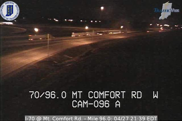 I-70, Mt. Comfort Road