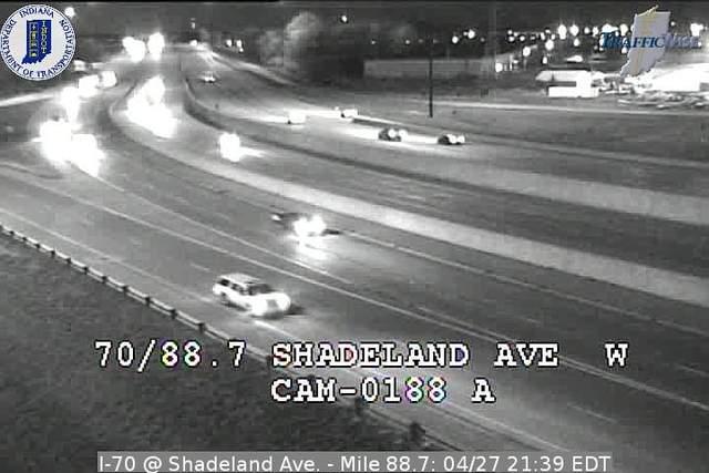 I-70, Shadeland Ave.
