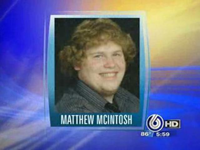 mcintosh matthew  19-Year-Old First State Flu Death -  Indianapolis, IN