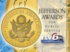 Nominate a volunteer for Jefferson Award
