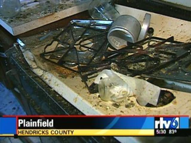 Slideshow Pressure Cooker Blast Sends Two To Hospital