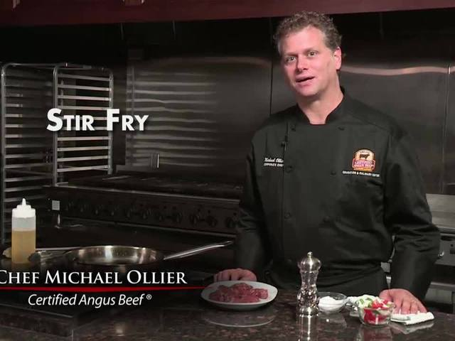 Making the best stir fry