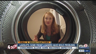 Lawsuits Many Front Load Washing Machines Contain Hidden