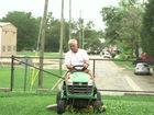 Ind. man found dead beneath lawn mower