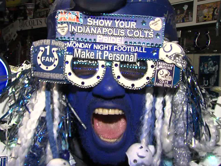 Colts Superfan Michael Hopson unmasked - TheIndyChannel.com Indianapolis IN & Colts Superfan Michael Hopson unmasked - TheIndyChannel.com ...