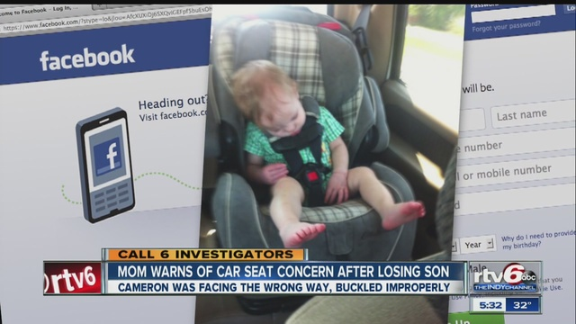 Mom Shares Car Seat Concern After Sons Death