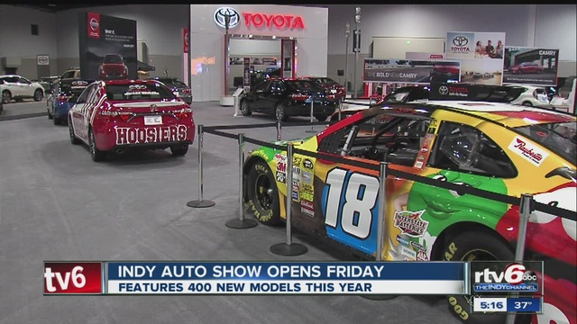 Indy Auto Show Features New Models TheIndyChannelcom - Car show in indianapolis this weekend