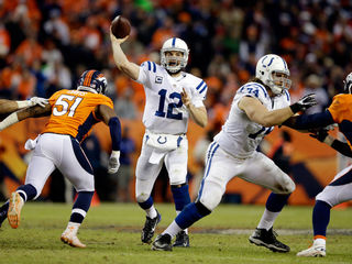 Colts, Broncos in similar shape as they face off