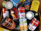 Noblesville Fire Dept. collecting food & toys