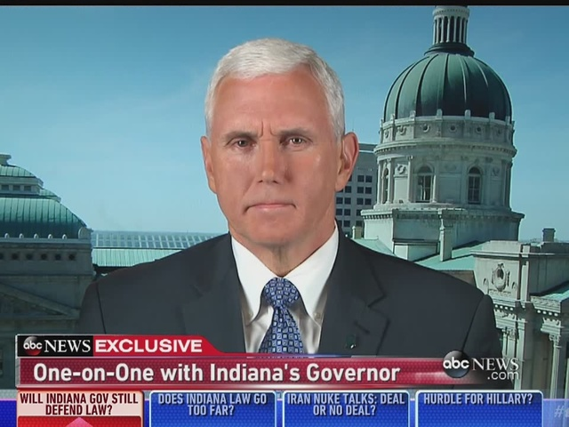 WATCH: Gov. Pence on This Week With George Stephanopoulos