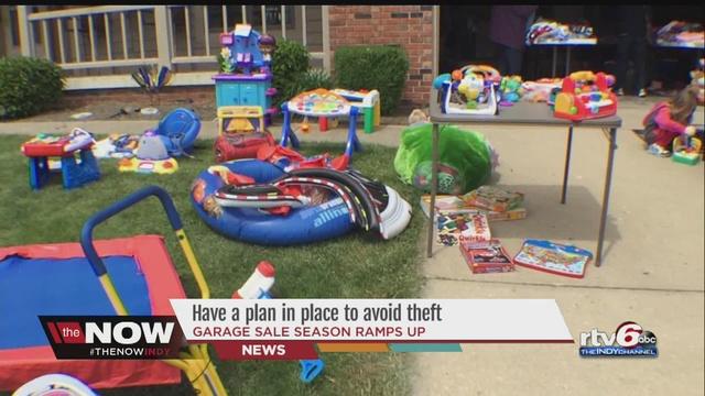 Garage sale season prompts reminder on protecting yourself from garage sale season prompts reminder on protecting yourself from thieves solutioingenieria Choice Image