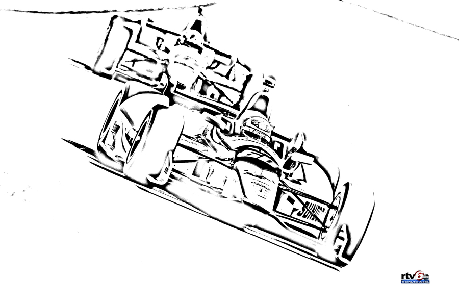 PRINT IndyCar Coloring Pages