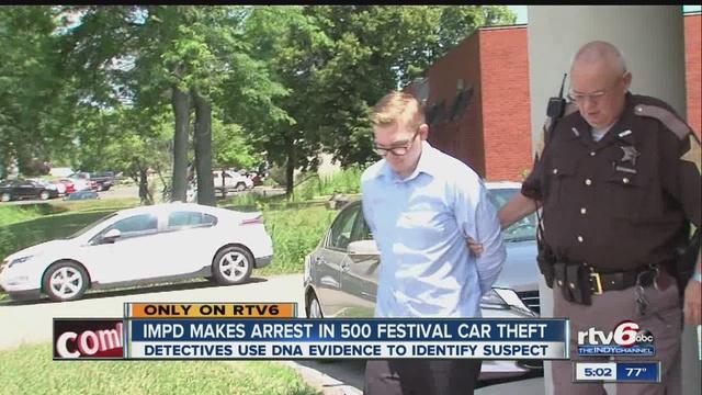 Bill Estes Chevy >> 500 Festival Car Theft Police Track Down Suspected Thief In Bill