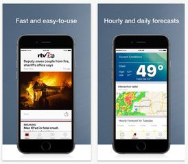 Download RTV6 app to track storms