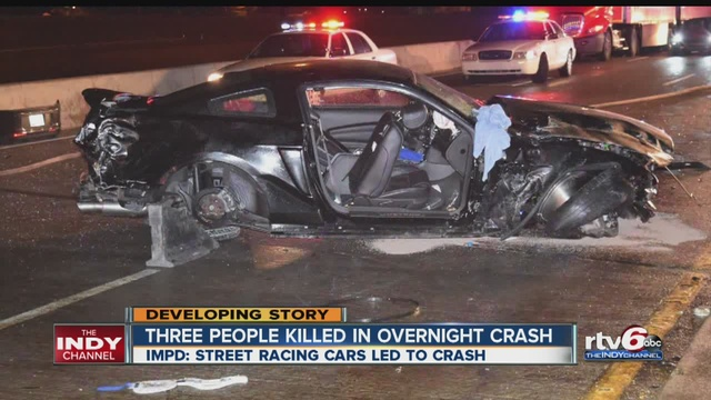 Car Involved In Deadly Crash Was Racing Police Say
