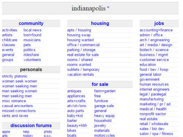 craigslist houston jobs apartments personals for sale ...