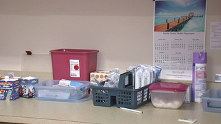 Wayne Co. employee prepared food with hep. A