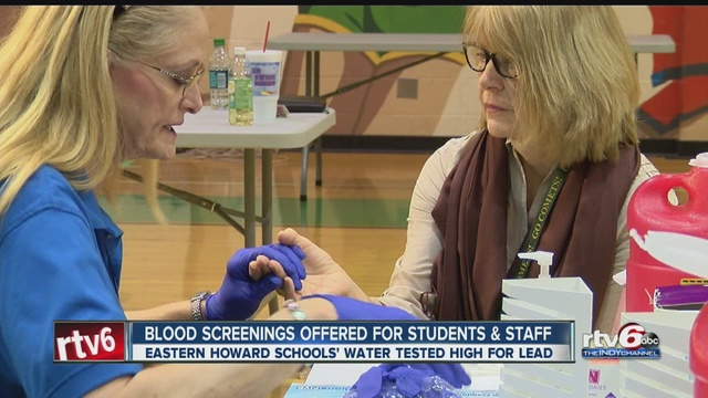 Blood tests begin in Howard County schools
