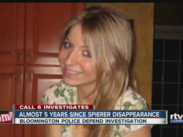 Bloomington Police Nearly 5 Years Later Lauren Spierer