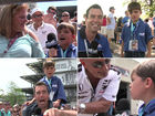All his reports: Kid reporter steals show at 500