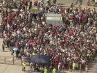 Shuttle breakdown: Fans wait hours to leave race