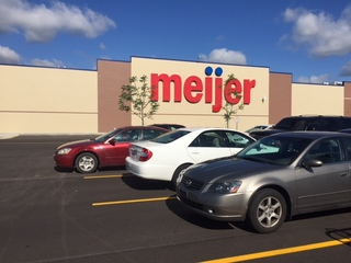 Unleaded fuel mixed with diesel at Ind. Meijer